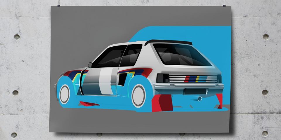Petrolicious automotive art